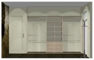 Wnętrze szafy szerokość 271 - 310 cm  2731w15x3