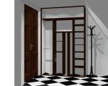 Wnętrze szafy szerokość 140 - 160 cm 1416w21x2