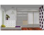 Wnętrze szafy szerokość 271 - 310 cm  2731w47x4