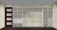 Wnętrze szafy szerokość 400 - 450 cm  4045w11x4