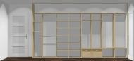 Wnętrze szafy szerokość 400 - 450 cm  4045w13x4