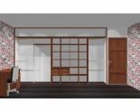 Wnętrze szafy szerokość 400 - 450 cm  4045w2x5