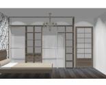 Wnętrze szafy szerokość 310 - 350 cm  3135w44x4
