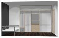 Wnętrze szafy szerokość 271 - 310 cm  2731w7x3
