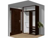 Wnętrze szafy szerokość 140 - 160 cm 1416w2x2