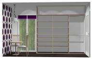 Wnętrze szafy szerokość 241 - 270 cm 2427w24x3
