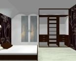 Wnętrze szafy szerokość 181 - 210 cm 1821w45x3