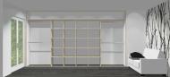 Wnętrze szafy szerokość 400 - 450 cm  4045w1x4