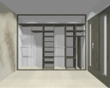 Wnętrze szafy szerokość 310 - 350 cm  3135w16x3