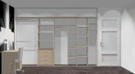 Wnętrze szafy szerokość 350 - 400 cm  3540w5x4