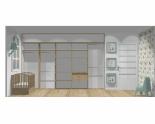 Wnętrze szafy szerokość 350 - 400 cm  3540w4x5