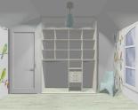 Wnętrze szafy szerokość 161 - 180 cm 1618w13x2