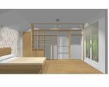 Wnętrze szafy szerokość 350 - 400 cm  3540w12x4
