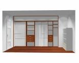 Wnętrze szafy szerokość 350 - 400 cm  3540w6x4