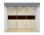 Drzwi przesuwne szerokość 271 - 310 cm 2731d13x3