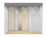 Drzwi przesuwne szerokość 181 - 210 cm 1821d8x3