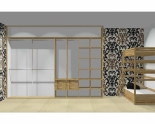 Wnętrze szafy szerokość 310 - 350 cm  3135w34x4