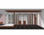 Wnętrze szafy szerokość 400 - 450 cm  4045w23x5