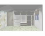 Wnętrze szafy szerokość 310 - 350 cm  3135w6x3