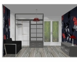 Wnętrze szafy szerokość 181 - 210 cm 1821w8x2