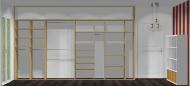Wnętrze szafy szerokość 400 - 450 cm  4045w25x4
