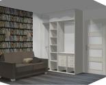 Wnętrze szafy szerokość 161 - 180 cm 1618w17x2