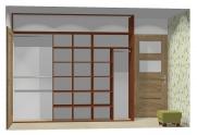 Wnętrze szafy szerokość 271 - 310 cm  2731w2x3