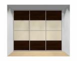 Drzwi przesuwne szerokość 271 - 310 cm 2731d14x3