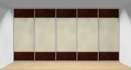Drzwi przesuwne szerokość 451 - 500 cm 4550d13x5