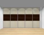 Drzwi przesuwne szerokość 401 - 450 cm 4045d23x5