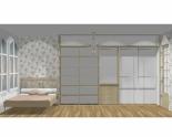 Wnętrze szafy szerokość 350 - 400 cm  3540w3x5