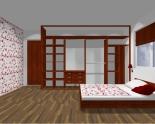 Wnętrze szafy szerokość 350 - 400 cm  3540w15x4