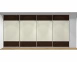 Drzwi przesuwne szerokość 401 - 450 cm 4045d12x4
