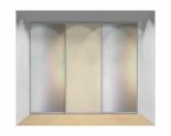Drzwi przesuwne szerokość 271 - 310 cm 2731d9x3