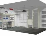 Wnętrze szafy szerokość 350 - 400 cm  3540w6x5