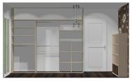 Wnętrze szafy szerokość 271 - 310 cm  2731w19x3