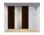 Drzwi przesuwne szerokość 211 - 240 cm 2124d2x3