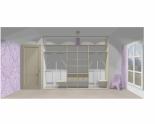 Wnętrze szafy szerokość 310 - 350 cm  3135w15x3