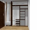 Wnętrze szafy szerokość 161 - 180 cm 1618w26x2