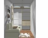 Wnętrze szafy szerokość 140 - 160 cm 1416w8x2