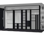 Wnętrze szafy szerokość 350 - 400 cm  3540w17x4