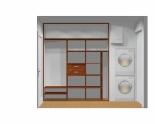 Wnętrze szafy szerokość 211 - 240 cm 2124w8x3