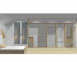 Wnętrze szafy szerokość 400 - 450 cm  4045w21x5