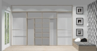 Wnętrze szafy szerokość 350 - 400 cm  3540w1x4