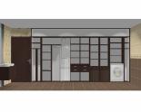 Wnętrze szafy szerokość 450 - 500 cm  4550w7x5