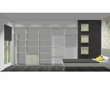 Wnętrze szafy szerokość 350 - 400 cm  3540w2x5