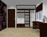 Wnętrze szafy szerokość 181 - 210 cm 1821w10x2