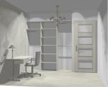 Wnętrze szafy szerokość 181 - 210 cm 1821w32x3