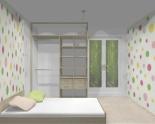 Wnętrze szafy szerokość 161 - 180 cm 1618w1x2