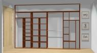 Wnętrze szafy szerokość 350 - 400 cm  3540w3x4